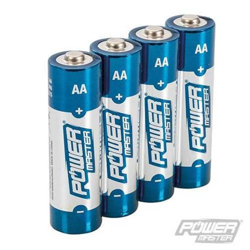 Powermaster AA Super Alkaline Battery LR6 4pk