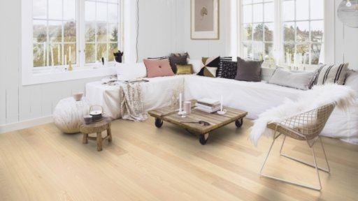 Boen Andante Ash Engineered Flooring, Live Pure Lacquered, 138x3.5x14 mm