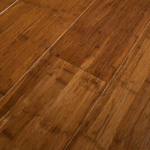Anbo Style Carbonised Strand Woven Solid Bamboo Flooring, Lacquered, 142x14 mm