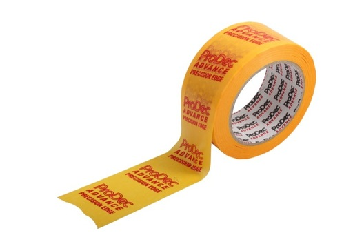 Low Tack Precision Masking Tape, Yellow, 48 mm, 50 m
