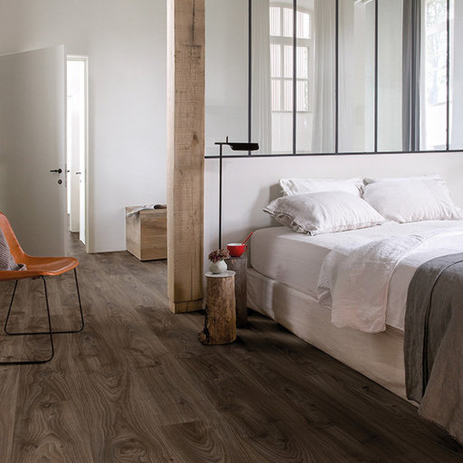 QuickStep Livyn Balance Click Cottage Oak Dark Brown Vinyl Flooring