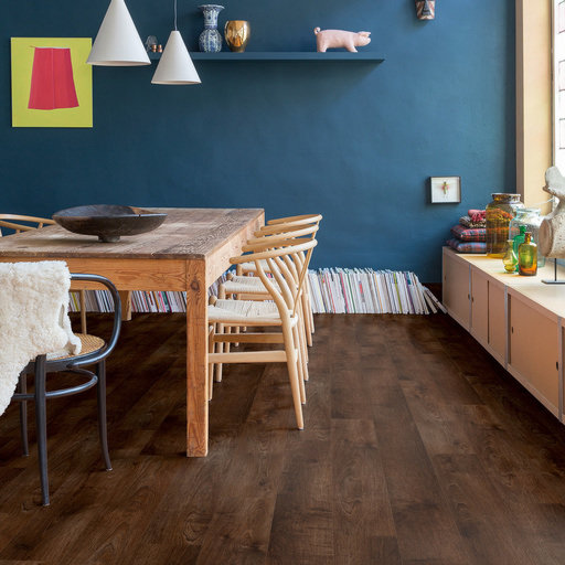 QuickStep Livyn Balance Click Plus Pearl Oak Brown Vinyl Flooring