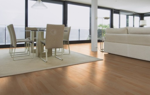 Boen Andante Beech Engineered 3-Strip Flooring, Protect Ultra, 215x3x14 mm