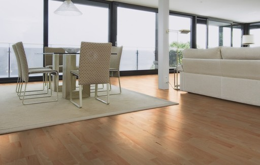 Boen Animoso Beech Engineered 3-Strip Flooring, Protect Ultra, 215x3x14 mm