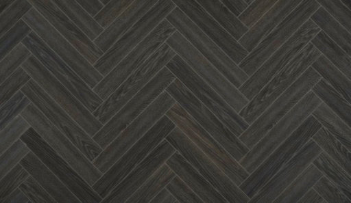 Xylo Beth Page Charme Black Herringbone Laminate Flooring, 84x8x504 mm