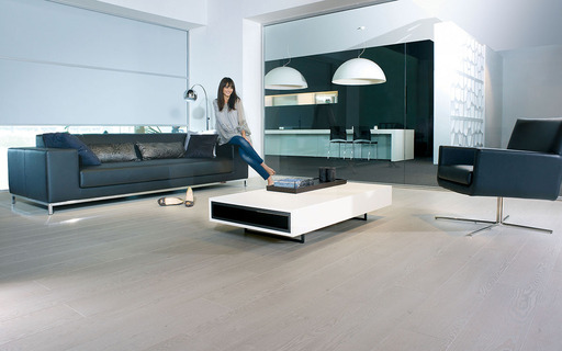 Balterio Magnitude Off-White Oak 4 Bevel Laminate Flooring 8 mm