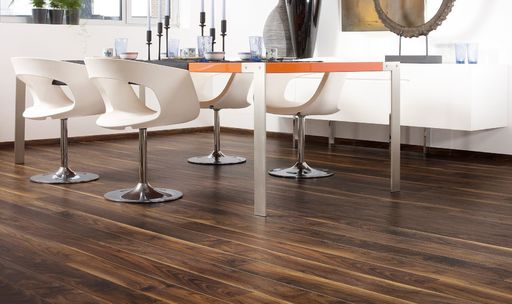 Balterio Stretto Black Walnut Laminate Flooring, 8mm
