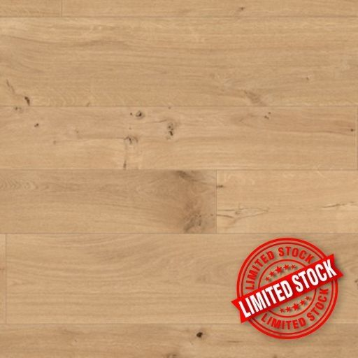 Balterio Grande Narrow Linnen Oak Laminate Flooring, 9 mm