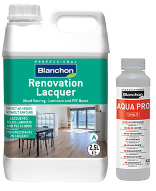 Blanchon Renovation Two-Component Lacquer, Matt, 2.5L