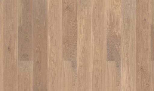 Boen Animoso Oak Engineered Flooring, White, Live Natural Oiled, Rustic, 14x181x2200 mm