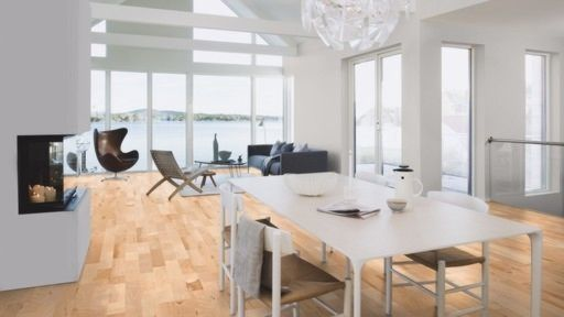 Boen Oak White Nights Engineered Wood Flooring, Oiled, 209x3x14 mm