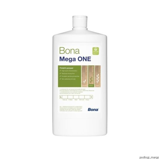 Bona Mega One, Matt Varnish, 1L