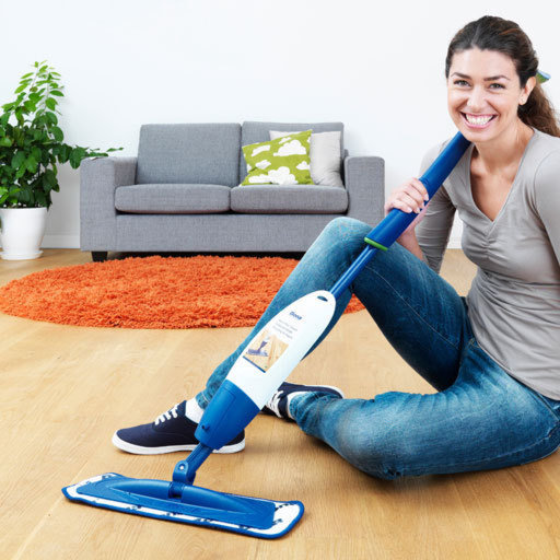 Bona Wood Floor Spray Mop Cleaning Kit,Balterio Laminates