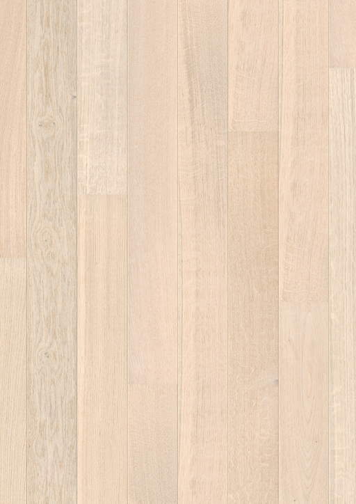 QuickStep Castello Polar Oak Engineered Flooring, Matt Lacquered, 145x3x14 mm