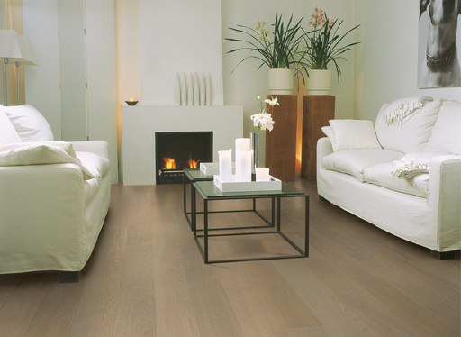 QuickStep Castello Fossil Oak Engineered Flooring, Matt Lacquered, 145x3x14 mm