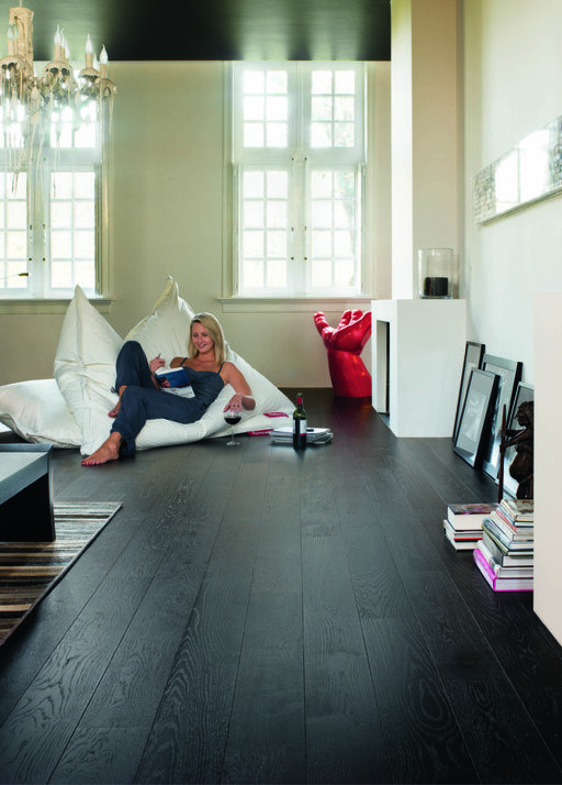 QuickStep Castello Wenge Oak Engineered Flooring, Satin Lacquered, 145x3x14 mm