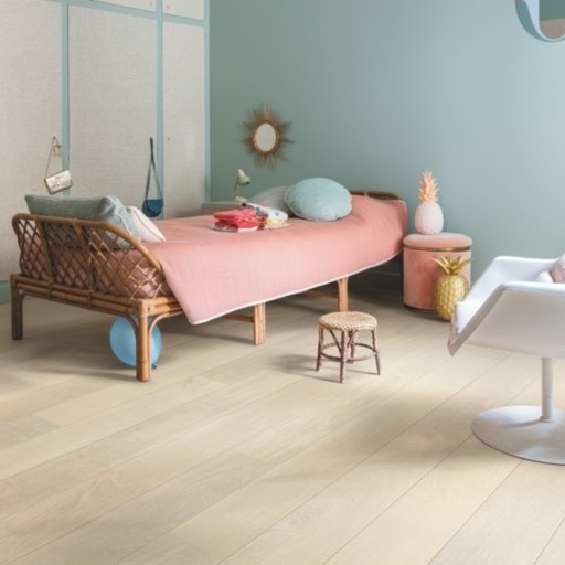 QuickStep Castello Silk Oak Engineered Flooring, Extra Matt Lacquered, 145x3x14 mm