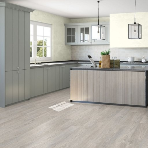 QuickStep CLASSIC Old Oak Light Grey Laminate Flooring, 8 mm ...