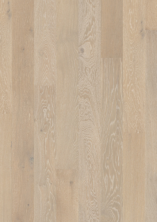 Quickstep Compact White Oak Snowflake Engineered Flooring, Matt Lacquered, 145x2.5x12.5 mm