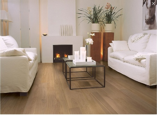 Quickstep Compact Pure Oak Engineered Flooring, Matt Lacquered, 145x2.5x12.5 mm