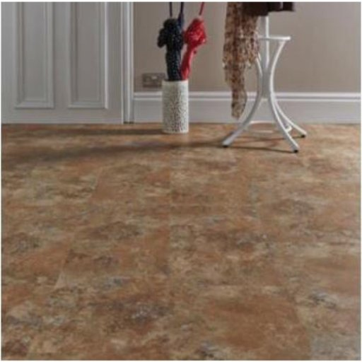 Lifestyle Colosseum Copper Flagstone Oak 5G Clic Vinyl Flooring, 5mm
