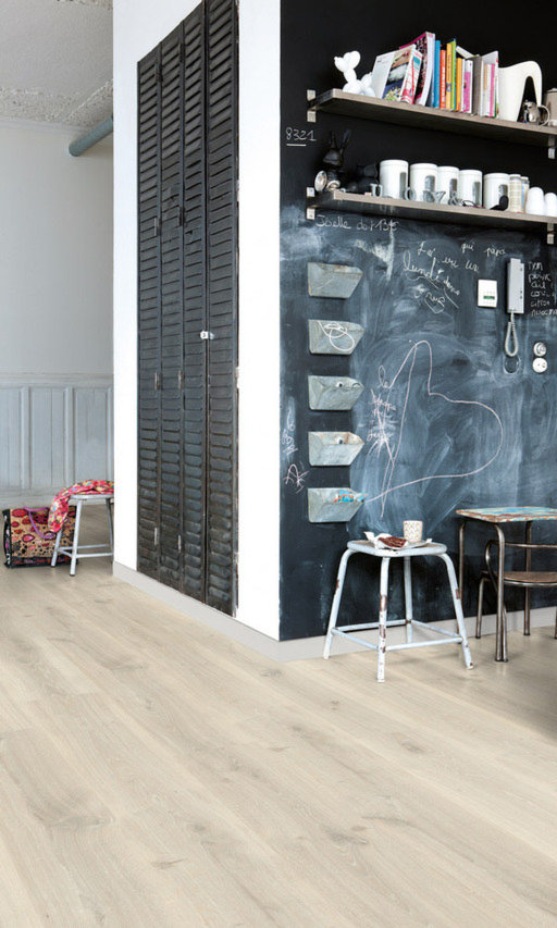 QuickStep Creo Tennessee Oak Grey Laminate Flooring, 7 mm