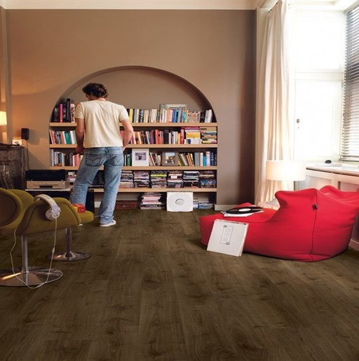 QuickStep Creo Virginia Oak Brown Laminate Flooring, 7 mm