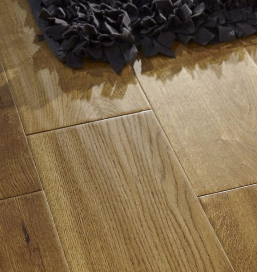 Chene Golden Oak Engineered Oak Flooring, Handscraped, 190x6x20 mm
