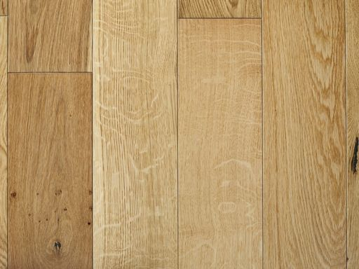 Chene White Oak Engineered Oak Flooring, Brushed, Lacquered, 190x6x20 mm