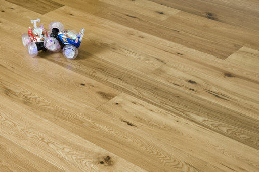 Xylo Oak Engineered Flooring, Rustic, Lacquered, 189x3x14 mm