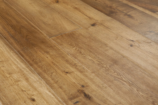 Xylo Oak Engineered Flooring, Smoked, Rustic, Brushed, UV Oiled, 189x3x14 mm