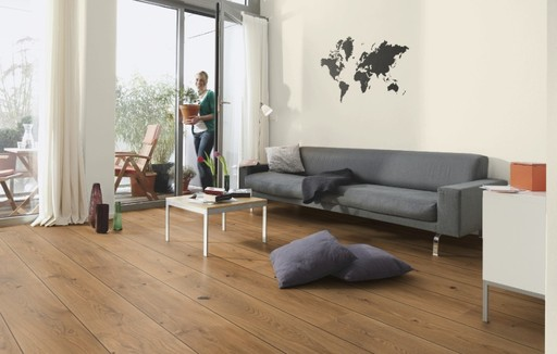 Boen Alamo Oak Engineered Flooring, Live Natural Oiled, Unbrushed, 209x3.5x14 mm
