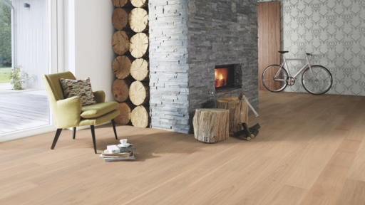 Boen Oak Andante Engineered Flooring, Live Pure Lacquered, 14x181x2200 mm