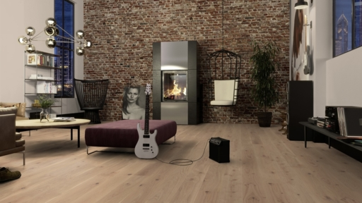 Boen Animoso Oak Engineered Flooring, Live Pure Lacquered, 14x181x2200 mm