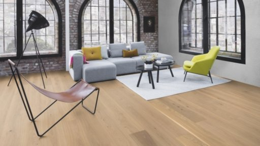 Boen Animoso Oak Engineered Flooring, Live Pure Lacquered, 209x3x14 mm