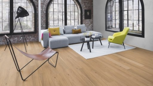 Boen Finesse Oak Parquet Flooring, Rustic, Live Matt Lacquered, 10.5x135x1350 mm