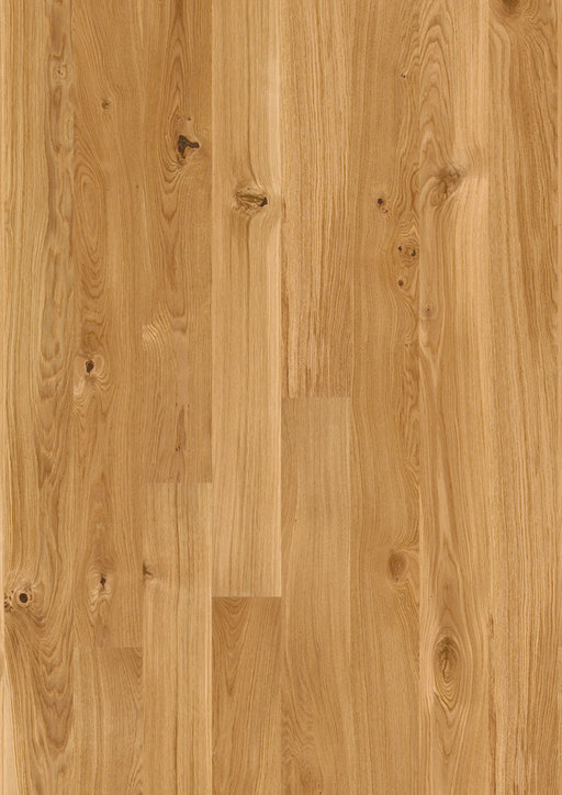 Boen Finesse Oak Parquet Flooring, Rustic, Live Natural Oiled, Brushed, 2V Bevel, 10.5x135x1350 mm