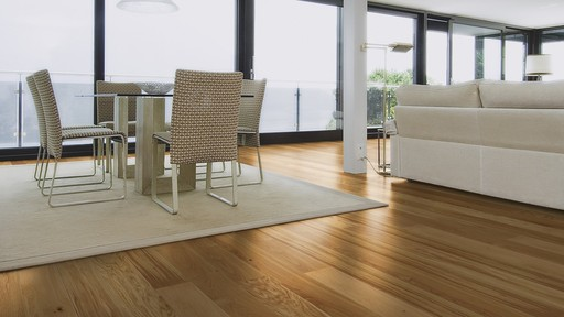 Boen Animoso Oak Engineered Flooring, Oiled, 138x3.5x14 mm