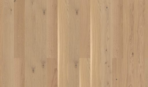 Boen Animoso Oak Engineered Flooring, White, Matt Lacquered, 209x3x14 mm