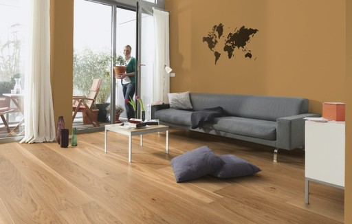 Boen Animoso Oak Engineered Flooring, Live Matt Lacquered, 209x3x14 mm