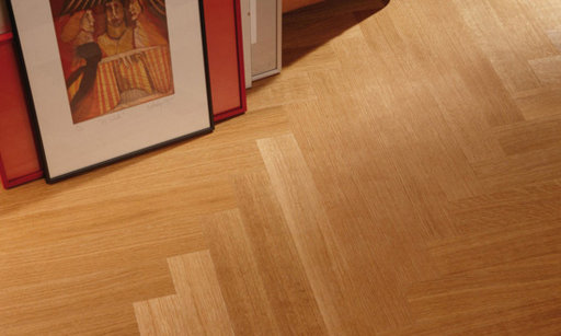 Boen Prestige Oak Parquet Flooring, Live Matt Lacquered, Natural, 10x70x590 mm