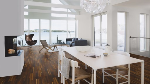 Boen Smoked Oak Engineered Flooring, Fineline, Live Matt Lacquered, 14x138x2200 mm