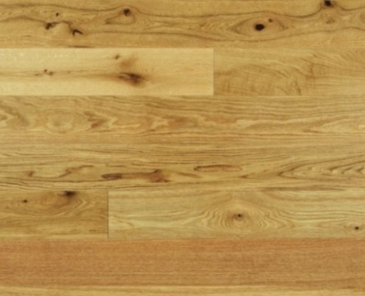 Elka Oak Engineered Flooring, Rustic, Lacqured, 190x3x14 mm