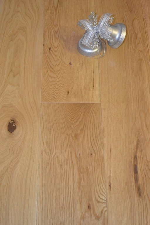Elka Enhanced Oak Engineered Flooring, Brushed, Lacquered, 150x4x18 mm
