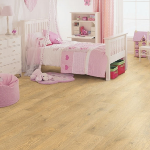 Elka Classic Plank 4V Grounded Oak Vinyl Flooring, 187x4.2x1251 mm