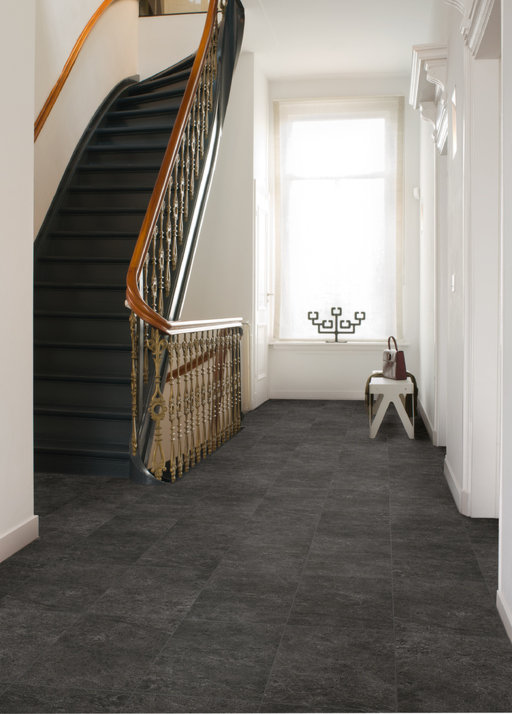 Slate Laminate Flooring : Quickstep exquisa slate black laminate flooring mm