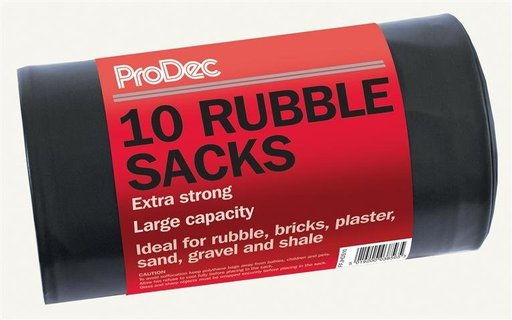 Heavy Duty Rubble Sacks (10 pcs)