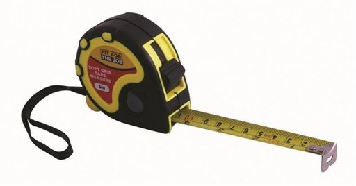 Retractable Tape Measure, 5 m