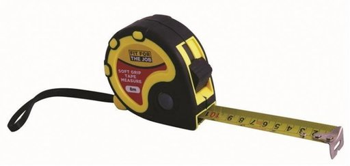 Retractable Tape Measure, 8 m