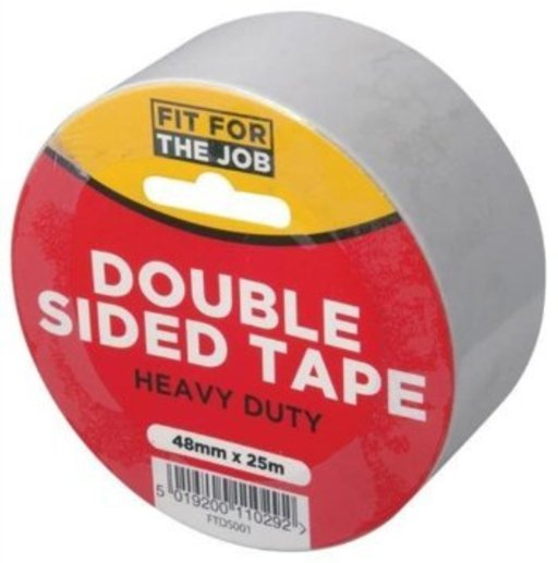 Double Sided Tape, 50 mm, 25 m